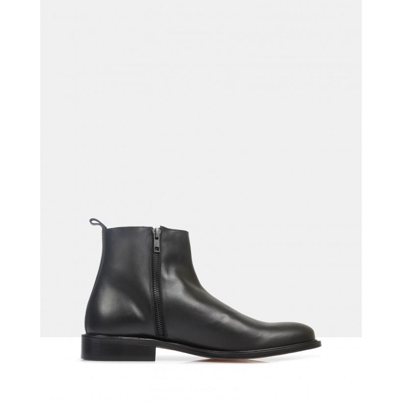 Barnes Ankle Boots Nero by Brando