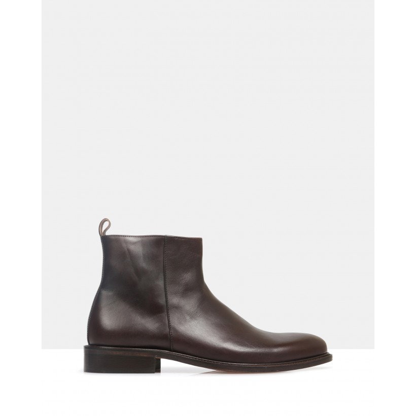 Barnes Ankle Boots Cafe by Brando