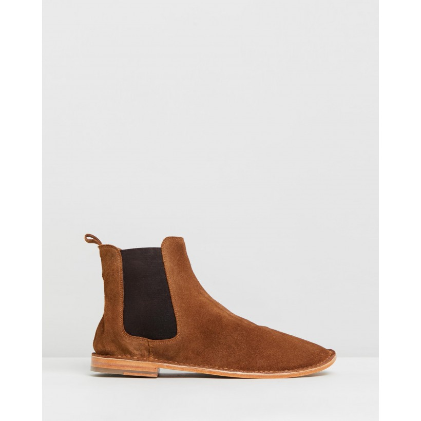 Bawley Tan Suede by Urge