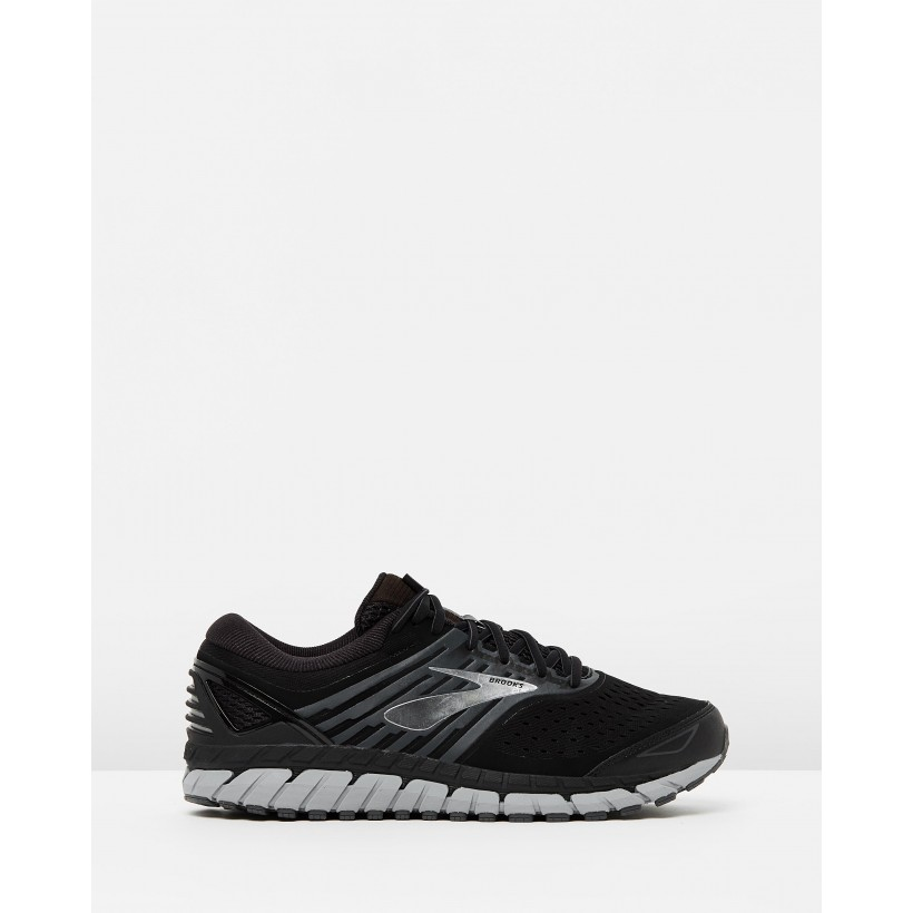 Beast 18 - Men's Black, Grey & Silver by Brooks
