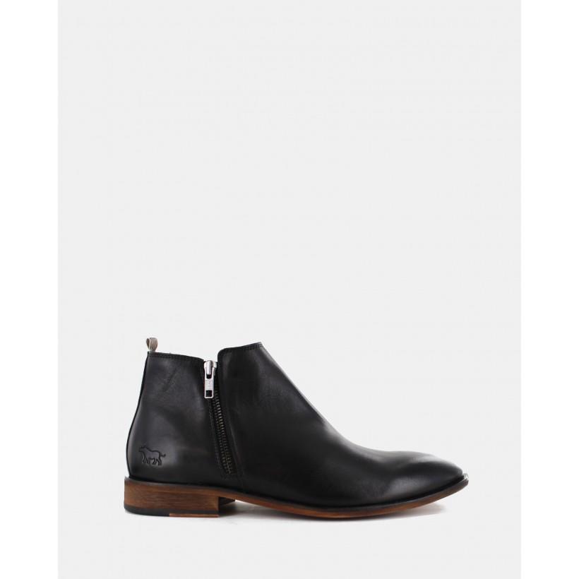 Belmont Boots Black by Wild Rhino