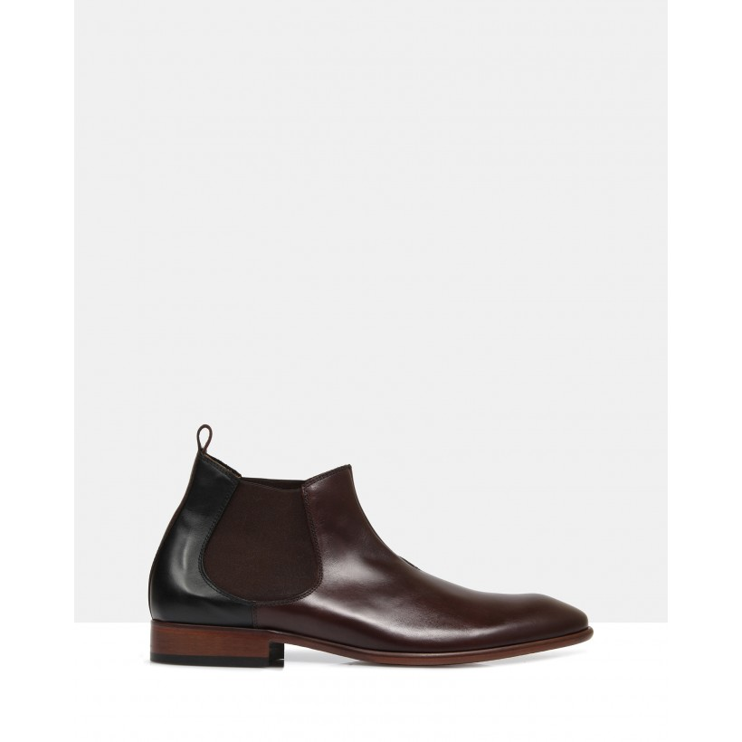 Bertans Ankle Boots Brown by Brando