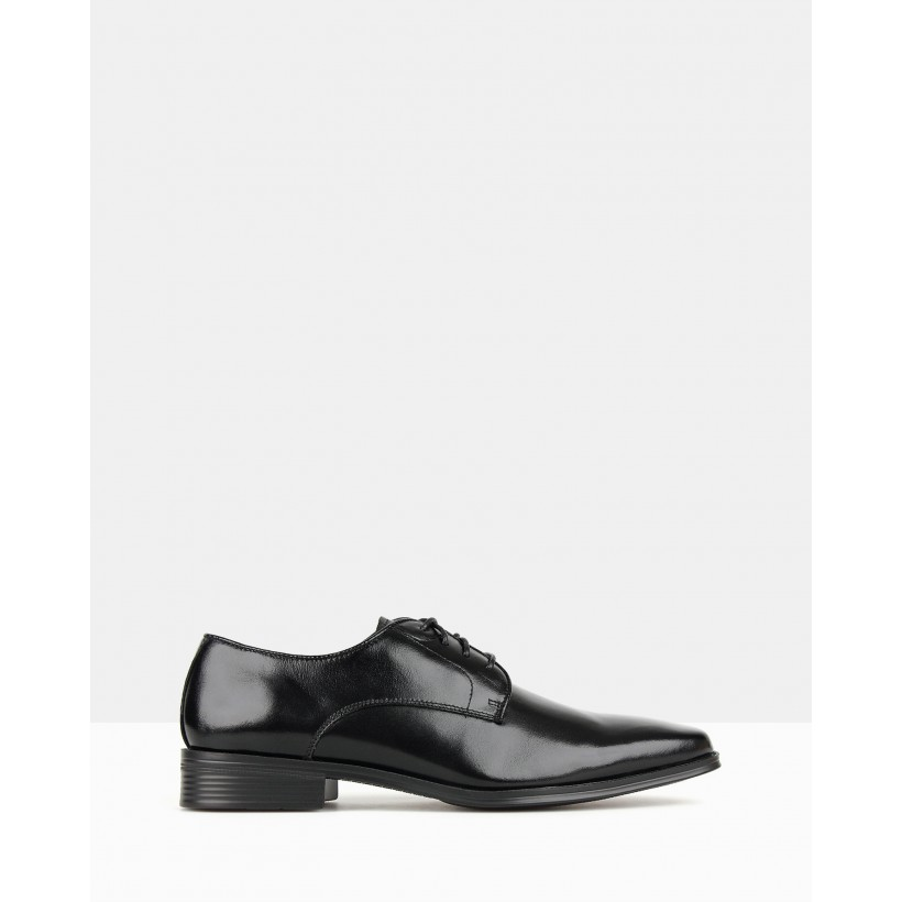 Blast Derby Dress Shoes Black by Airflex
