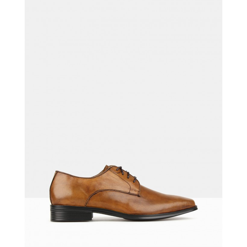 Blast Derby Dress Shoes Tan by Airflex