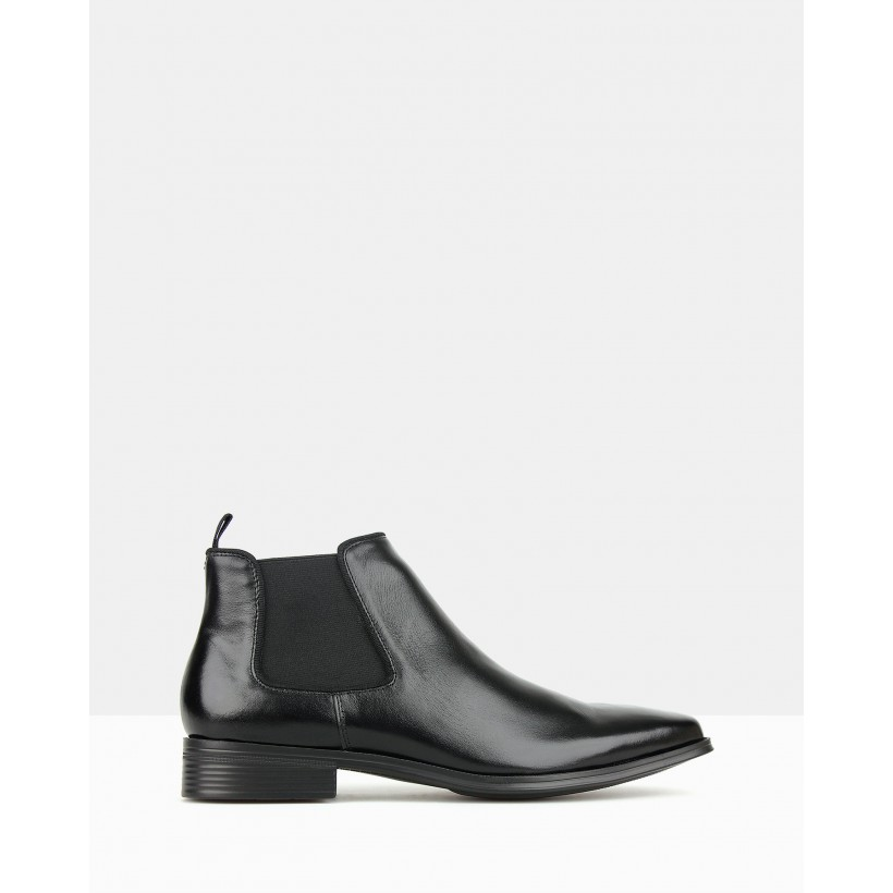 Blitz Chelsea Boots Black by Airflex