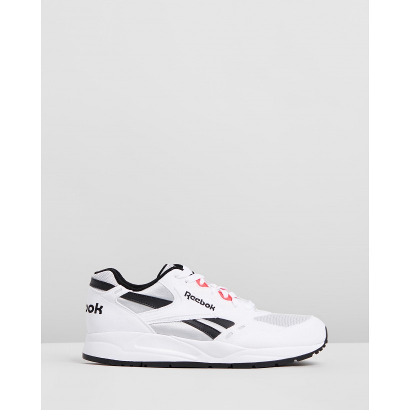 Bolton Essential - Men's White, Skull Grey, Black & Neon Red by Reebok