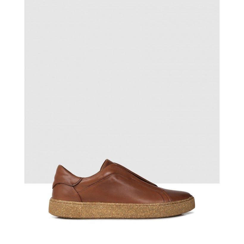 Boone Sneakers Brown by Brando