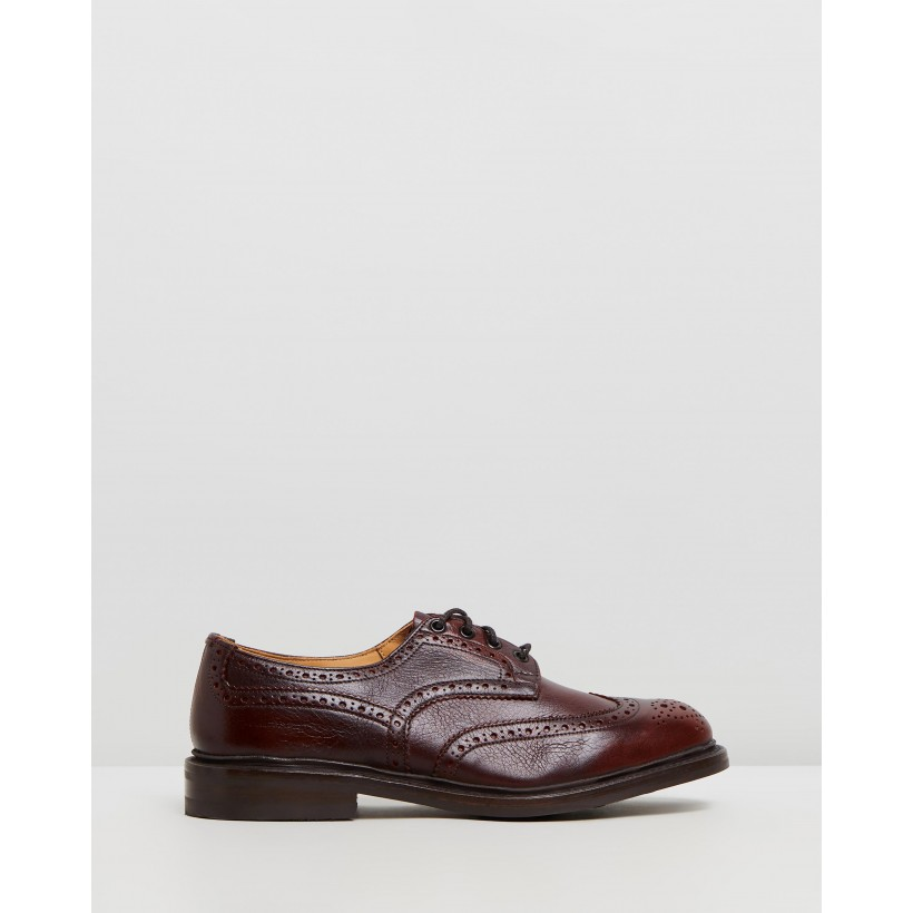 Bourton Brogues Sign Kudu & Dainite Sole by Trickers