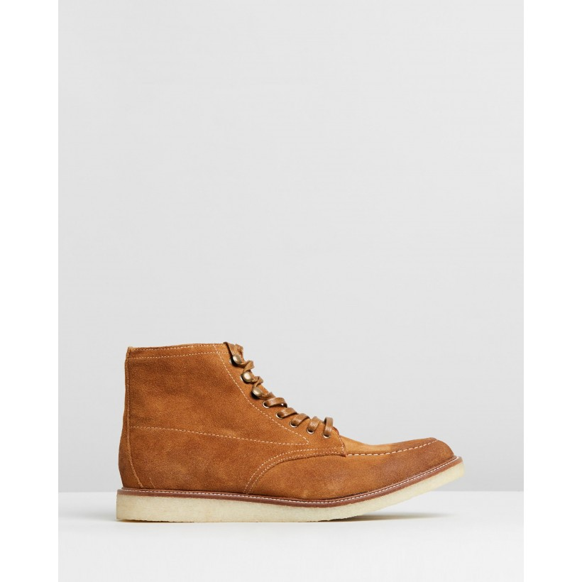 Braggs Boots Tan by R&A