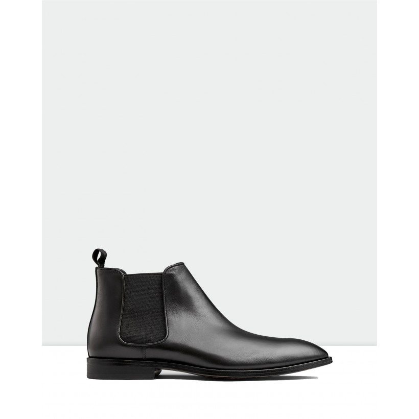 Branson Chelsea Boots Black by Aquila
