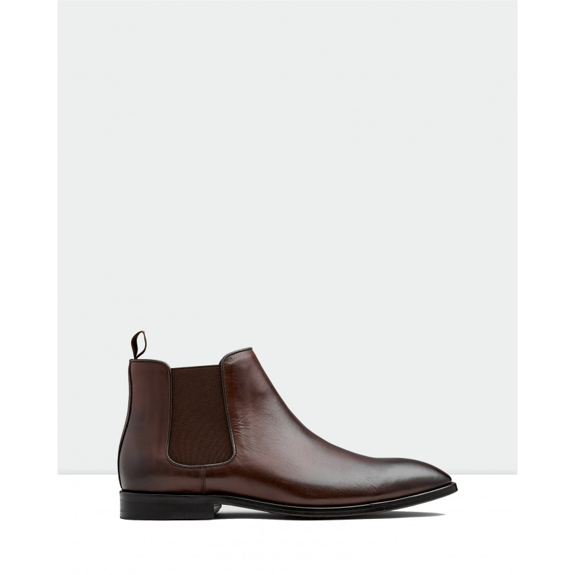 Branson Chelsea Boots Chocolate by Aquila