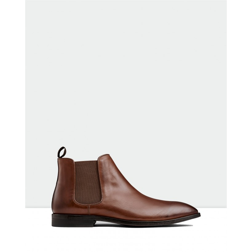 Branson Chelsea Boots Tan by Aquila