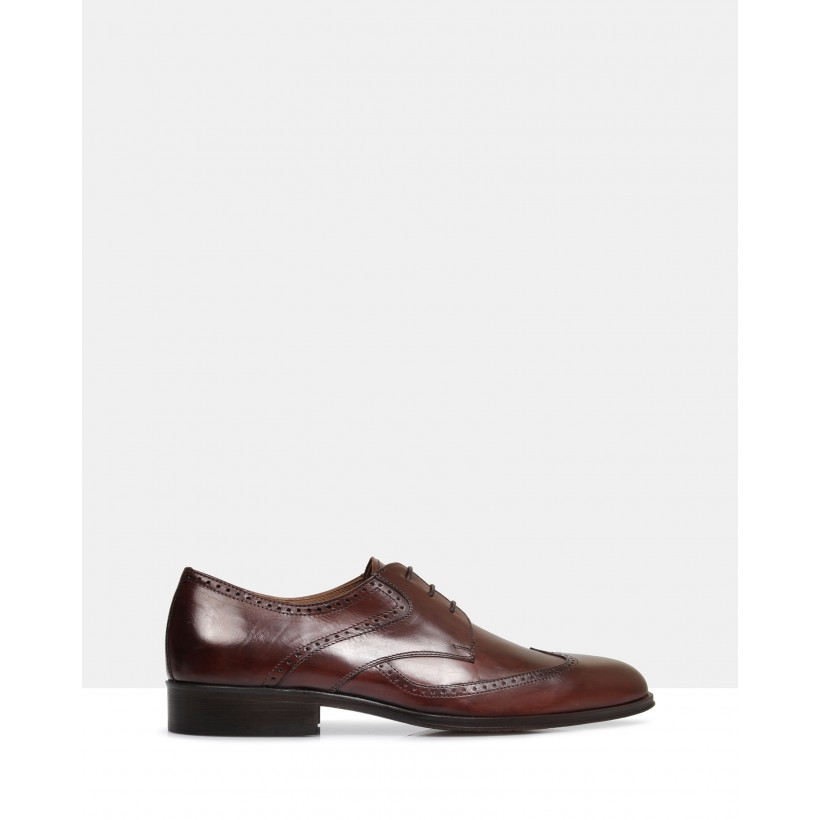 Braylon Leather Shoes Malto by Brando