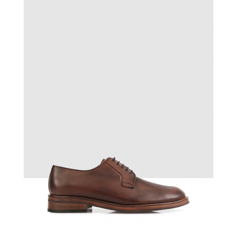 Brent Lace Ups 010-Brown by Brando