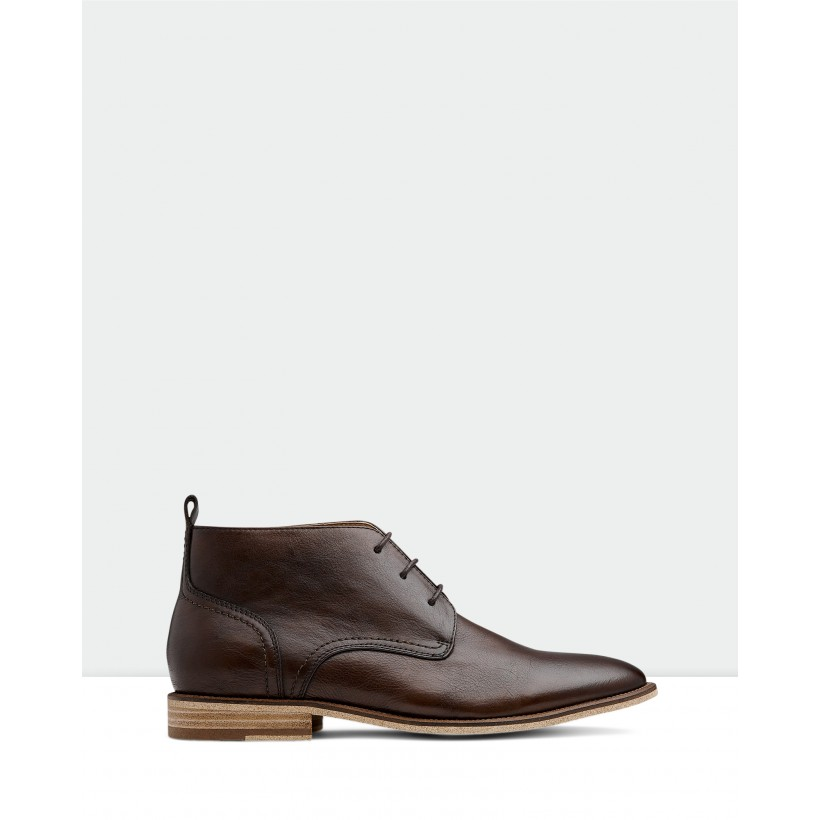 Brinton Boots Brown by Aquila