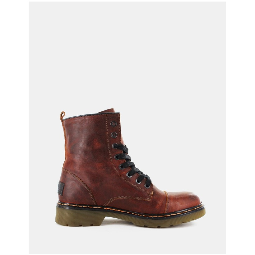 Bronx Boots Rust by Wild Rhino