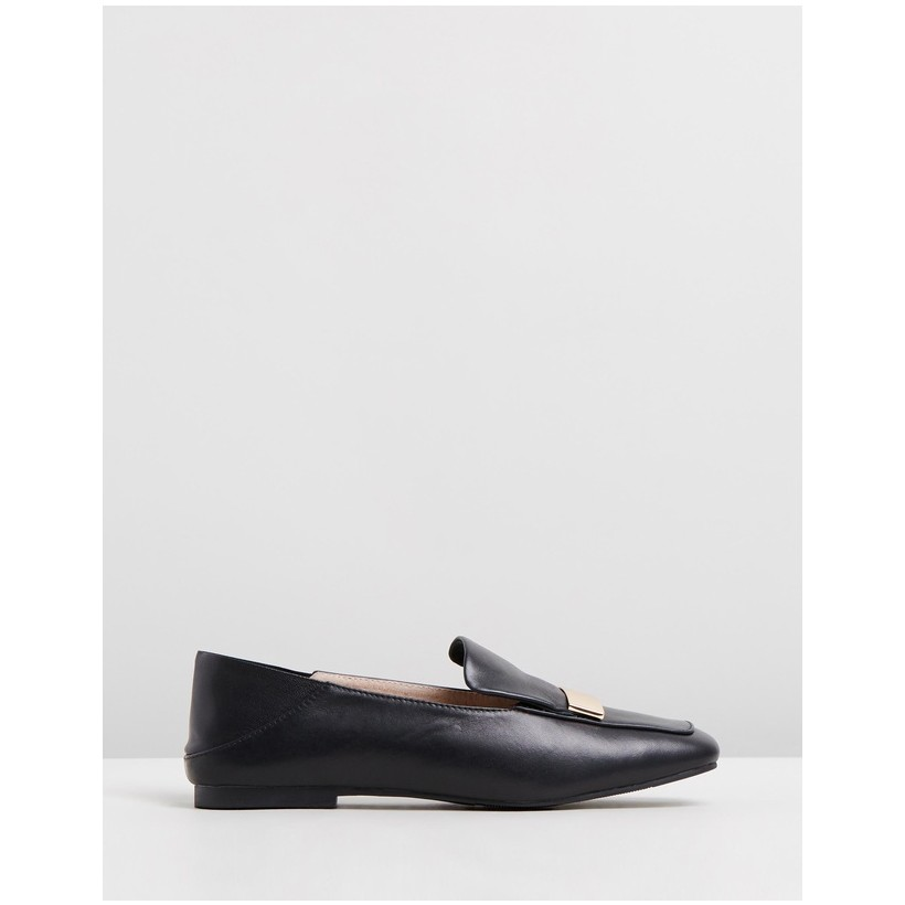 Casandra Leather Loafers Black by Walnut Melbourne