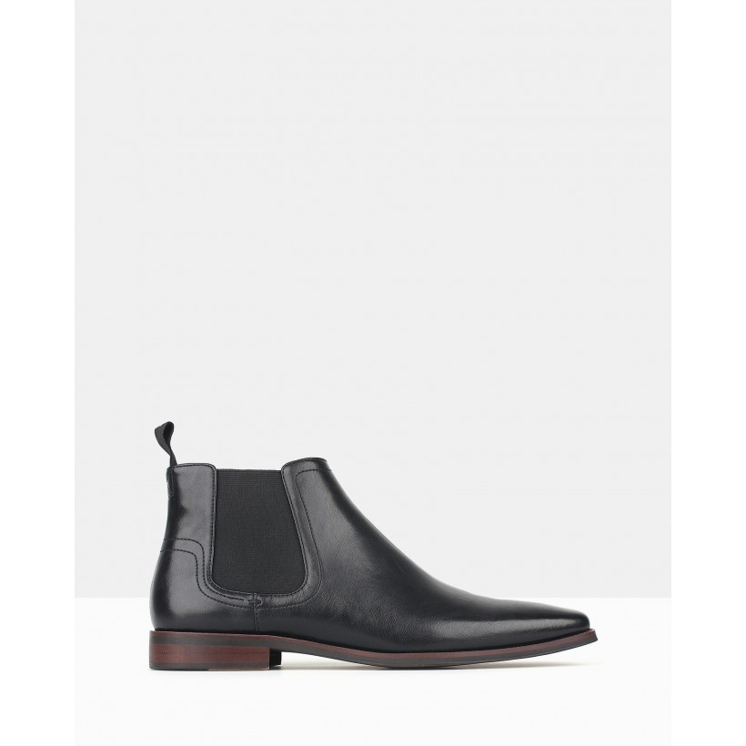 Castle Chelsea Boots Black by Betts