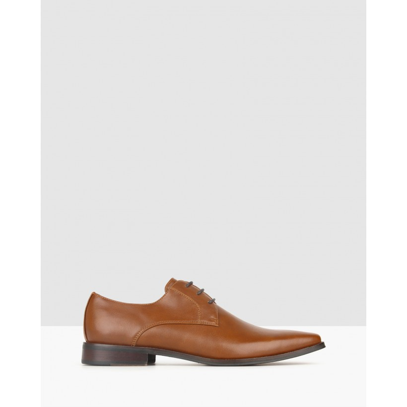 Cavalry Derby Dress Shoes Whiskey by Betts