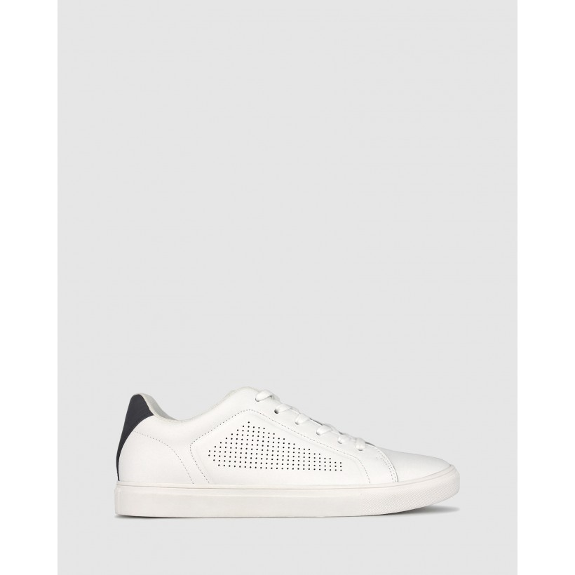 Charlie Lifestyle Sneakers White Black by Betts