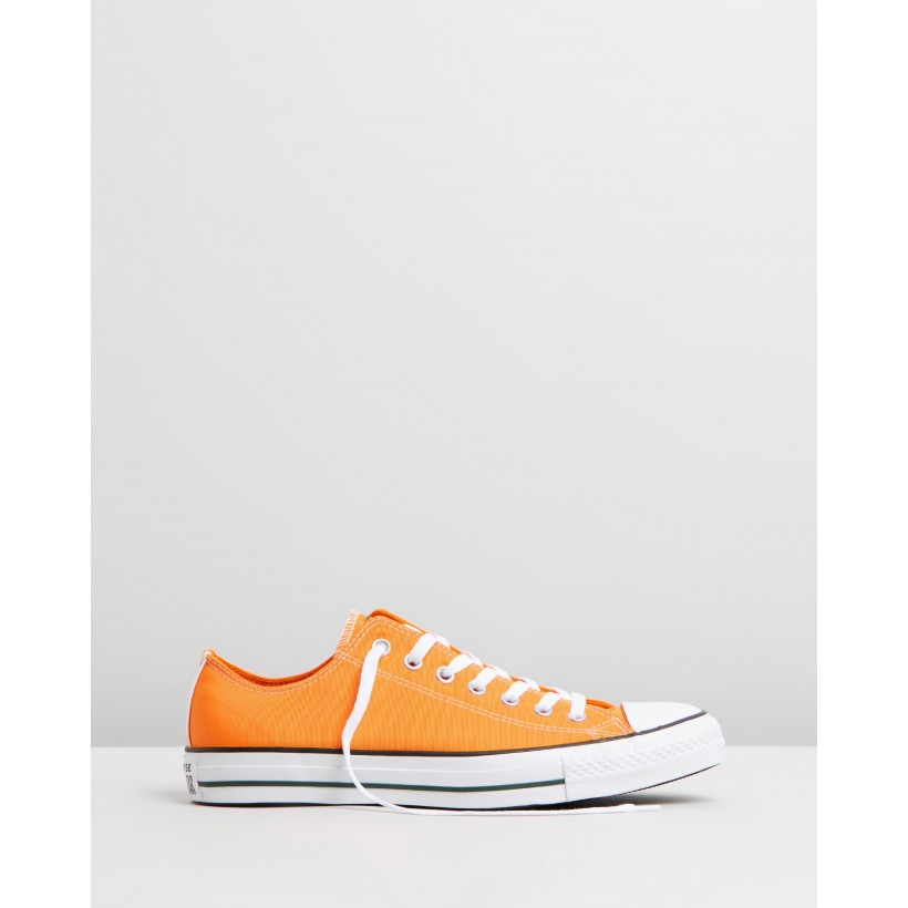 Chuck Taylor All Star Summer Sport Low Top - Men's Orange Rind by Converse