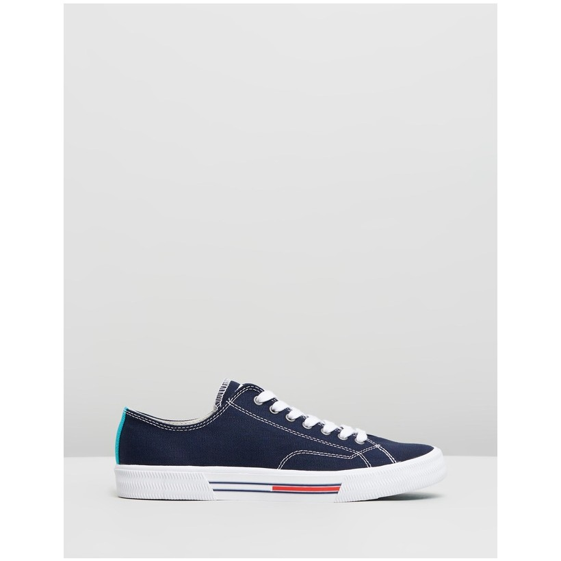 Classic Tommy Jeans Sneakers - Women's Midnight by Tommy Hilfiger