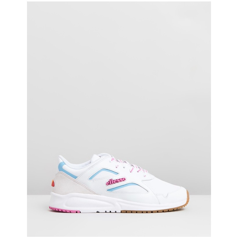 Contest - Women's White & Super Pink by Ellesse