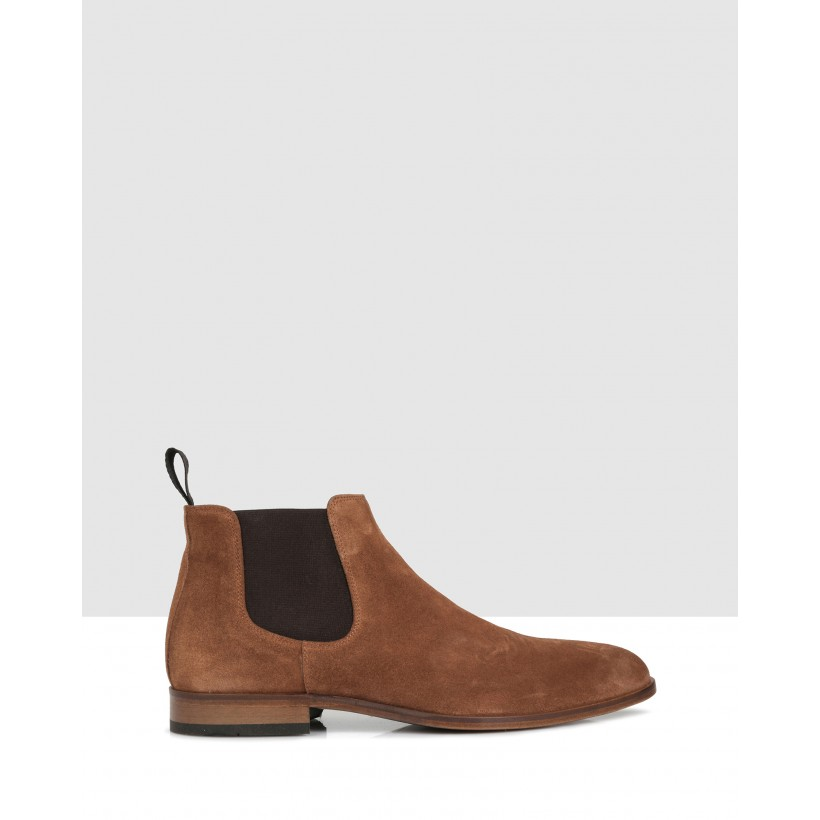 Crawford Ankle Boots Ruggine by Brando