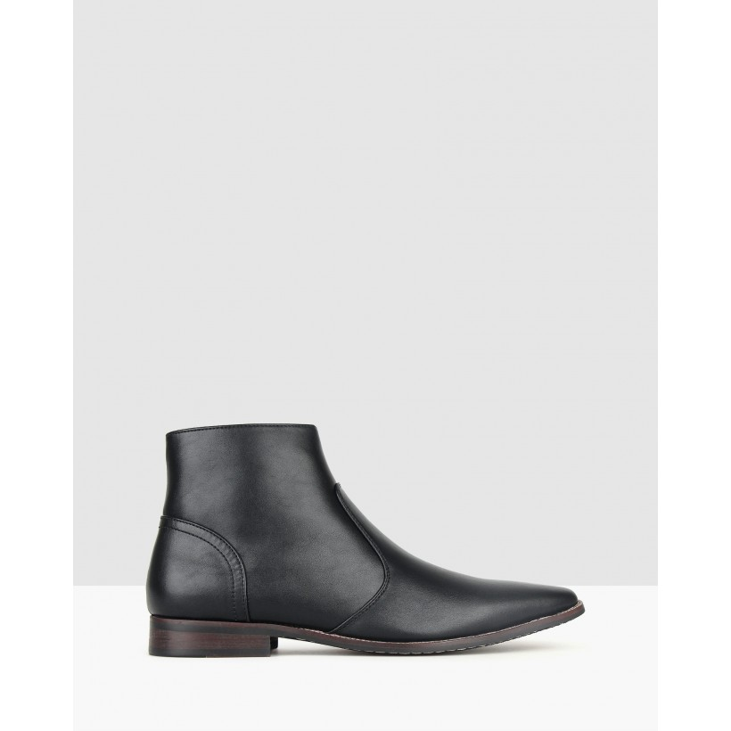 Crazy Dress Ankle Boots Black by Betts