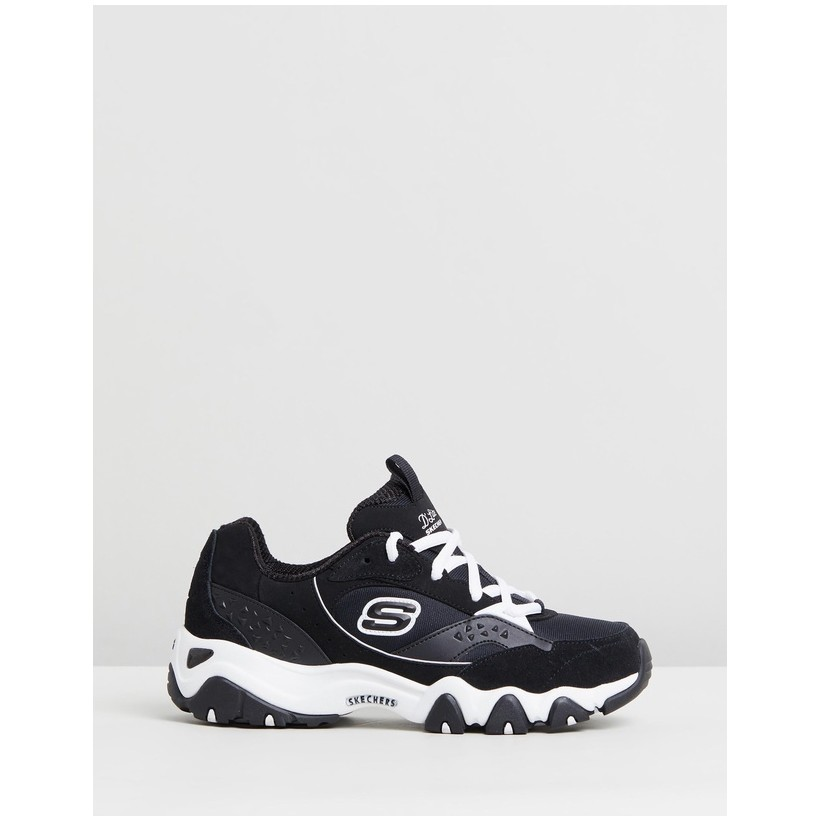 D'Lites - Women's White & Black by Skechers