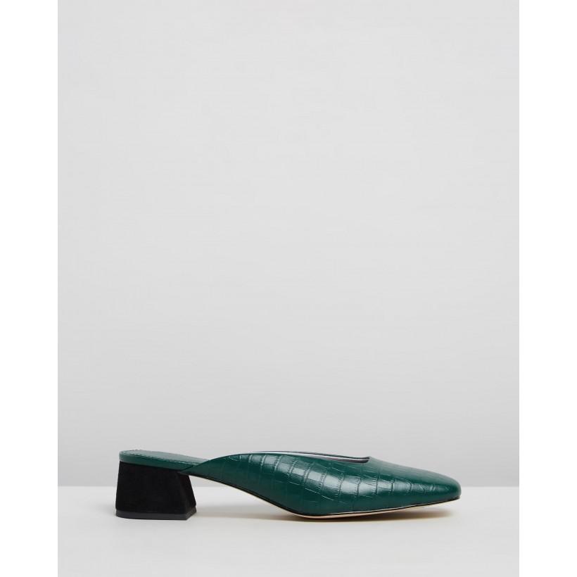 Daisy Mules Emerald Green by Mara & Mine