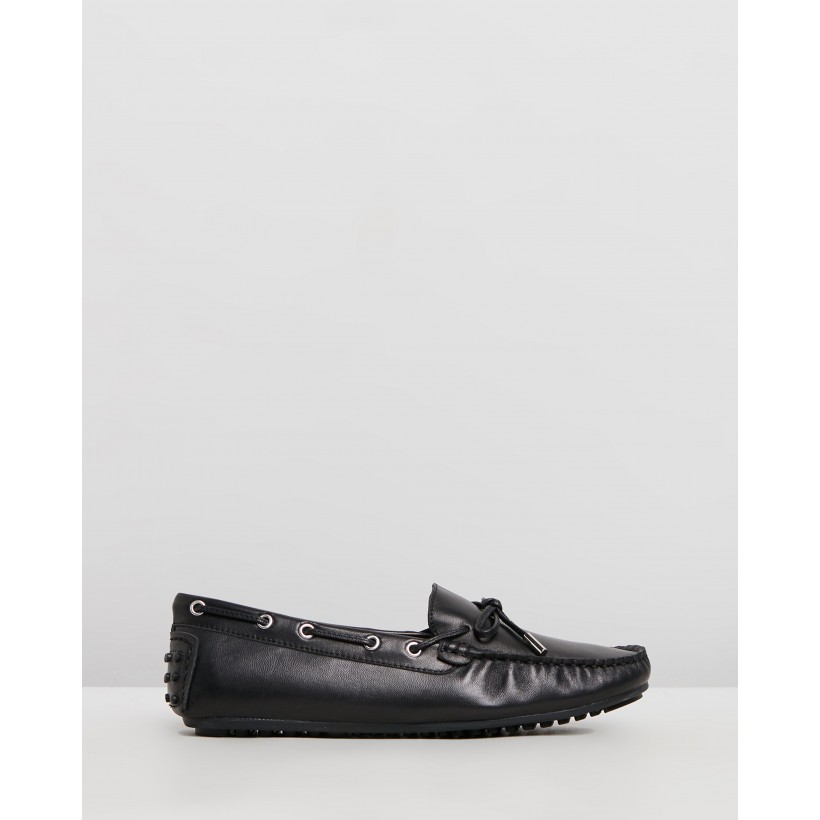 Daria Leather Loafers Black by Walnut Melbourne