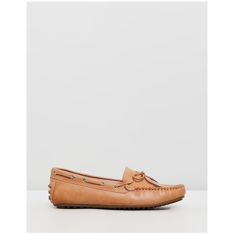 Daria Leather Loafers Tan by Walnut Melbourne