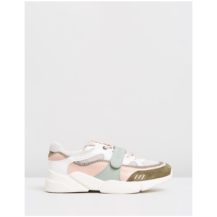 Dave Sport Shoes Beige & Khaki by M.N.G