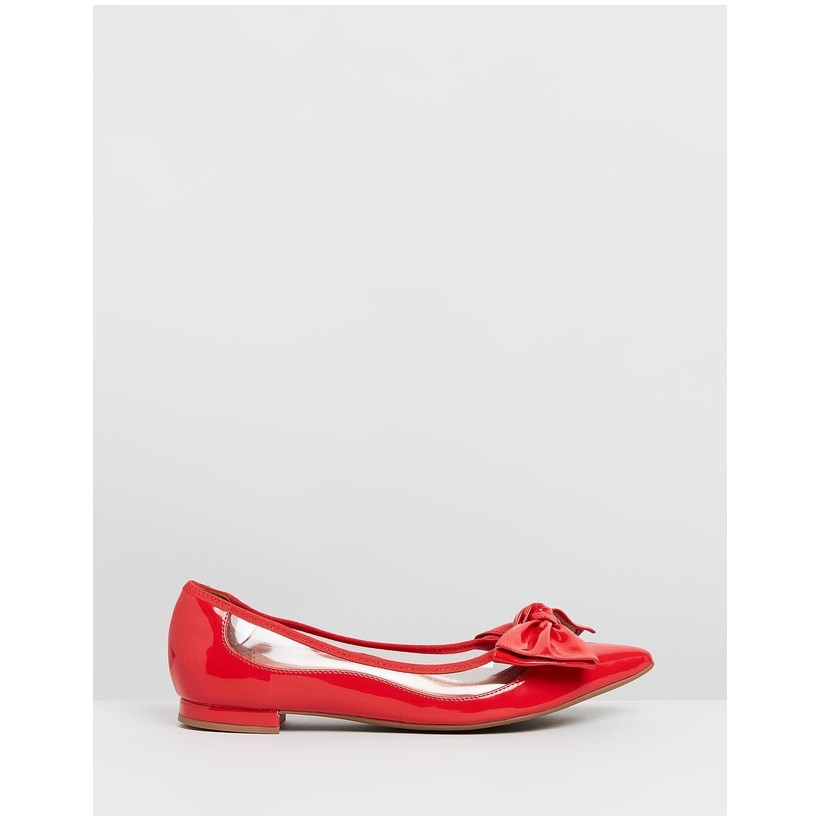 Demi Flats Red by Vizzano