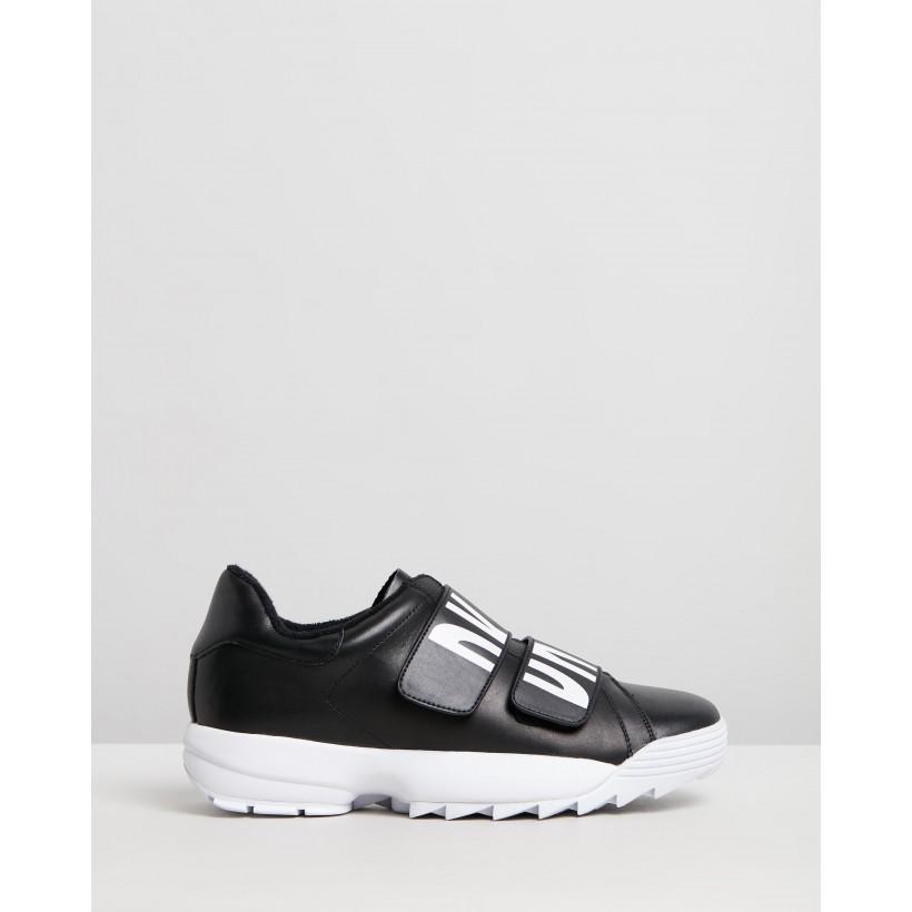 Dessa Slip-On Sneakers Black by Dkny