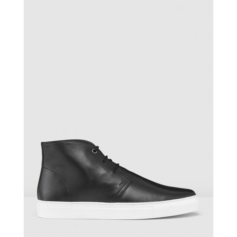 Dice Sneakers Black by Aq By Aquila