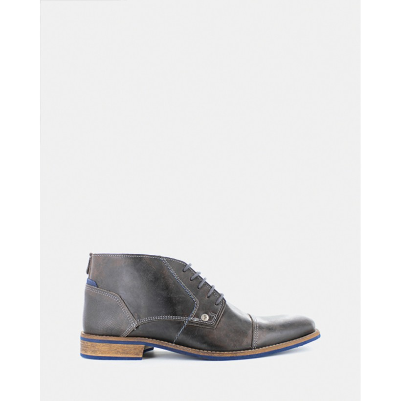 Digby Boots Dark Grey by Wild Rhino