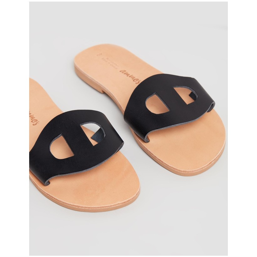 Dione Sandals Black by Ammos