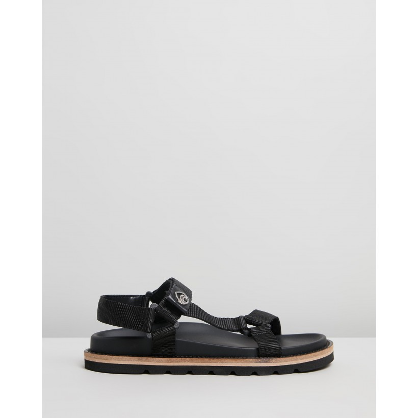Dora Sandals Midnight by Brother Vellies