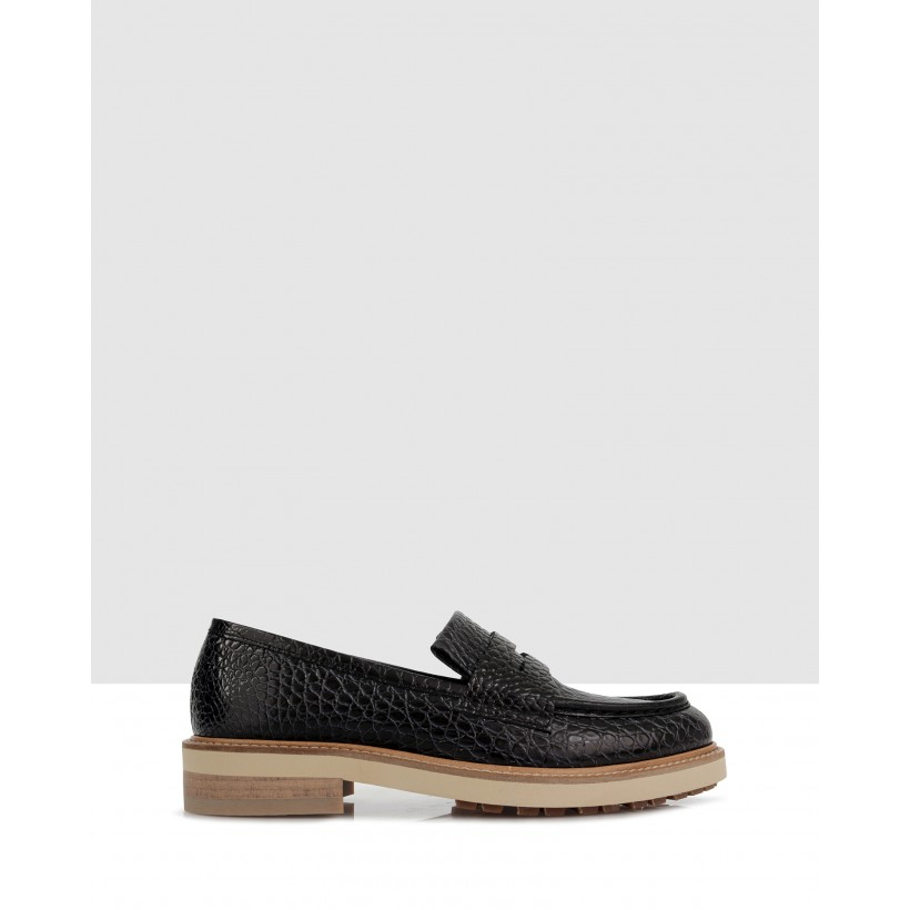 Duke Loafers Nero by Beau Coops