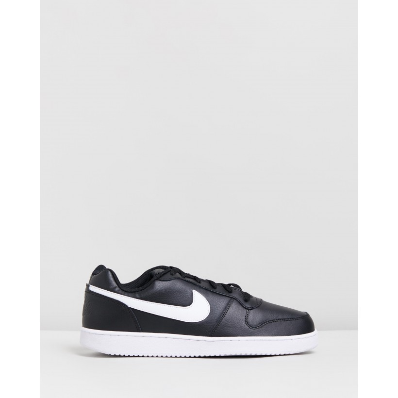 Ebernon Low - Men's Black & White by Nike