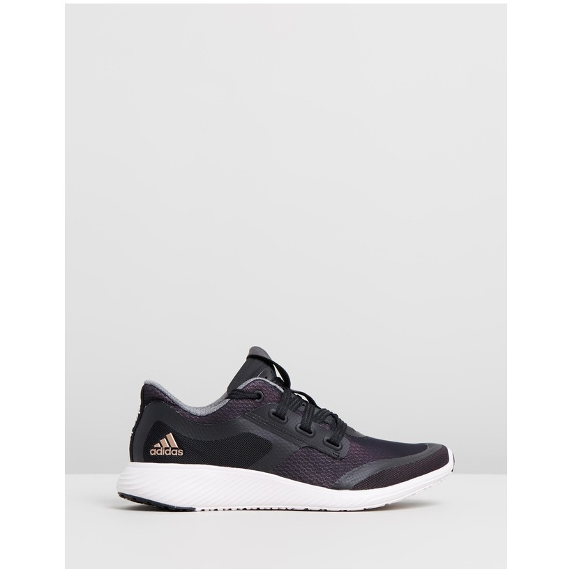 Edge Lux Clima 2 - Women's Core Black, Copper Metallic & Orchid Tint by Adidas Performance