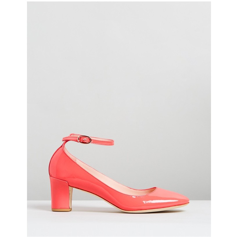Electra Campari Pink Patent Leather by Repetto