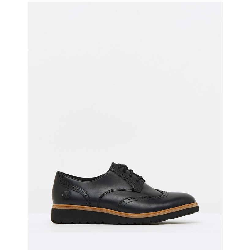 Ellis Street Oxfords Black Full-Grain by Timberland