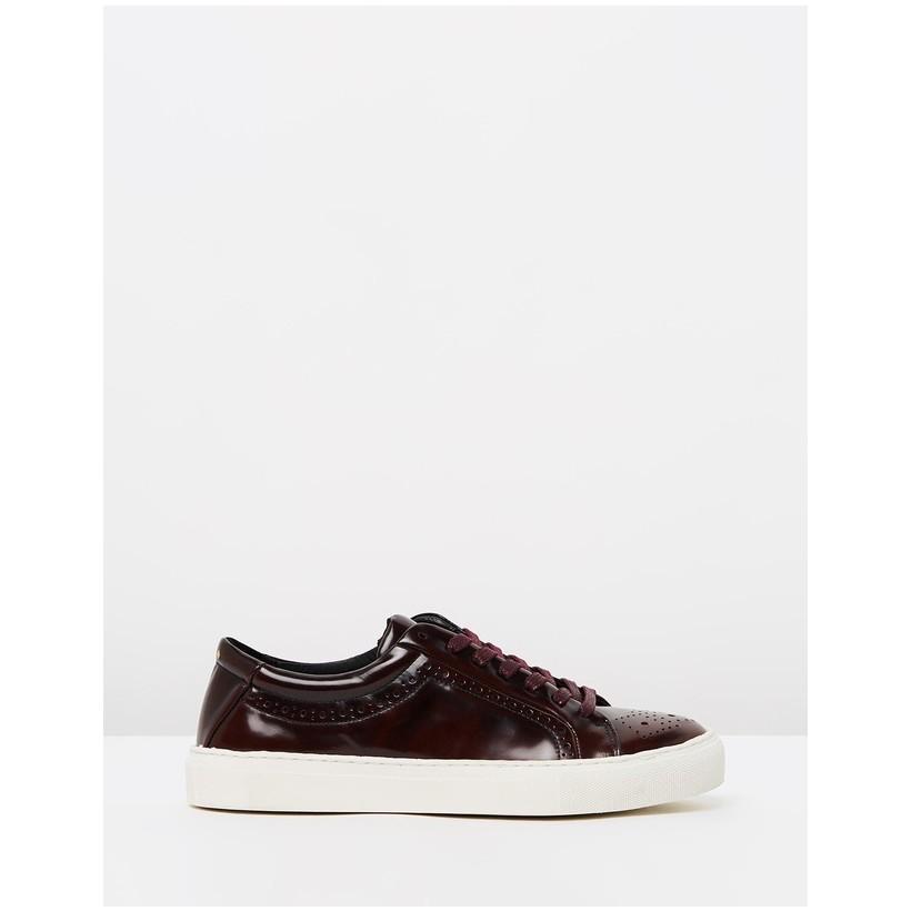 Elpique Brogue Shoes Bordeaux by Royal Republiq