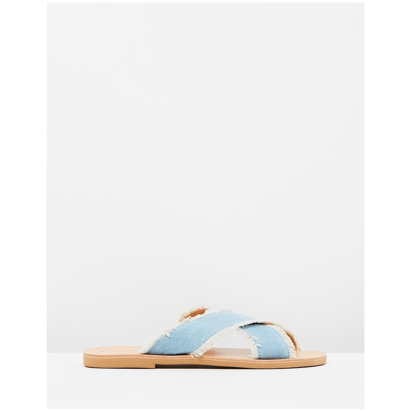 Elpis Sandals Denim by Ammos