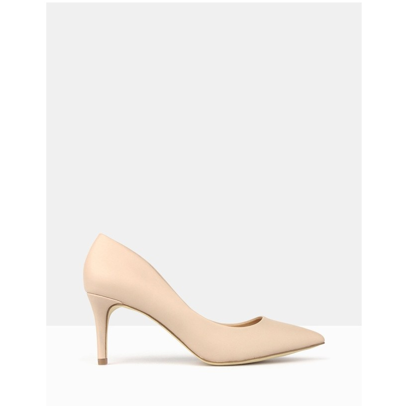 Empower Pointed Toe Stiletto Pump Nude by Betts