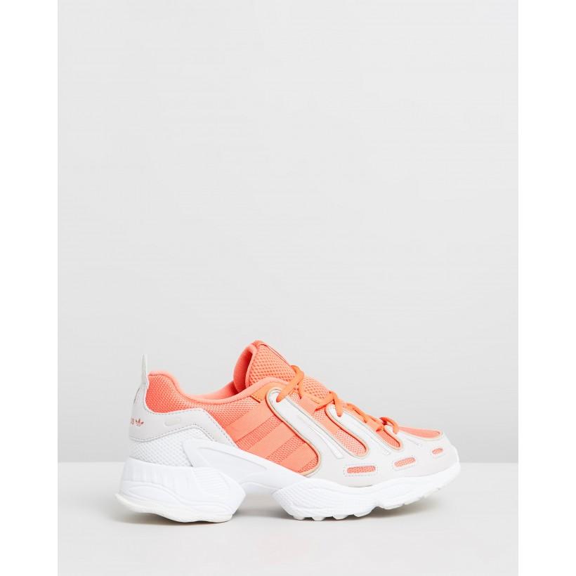 EQT Gazelle - Unisex Semi Coral, Semi Coral & Crystal White by Adidas Originals