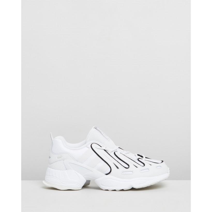 EQT Gazelle - Unisex Crystal White & Core Black by Adidas Originals